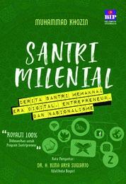 Cover Santri Milenial oleh Muhammad Khozin