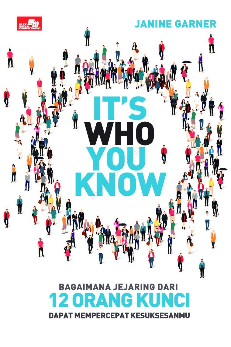 Buku Digital It`s Who You Know oleh Janine Garner