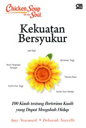 Chicken Soup for the Soul: Kekuatan Bersyukur by Amy Newmark Cover