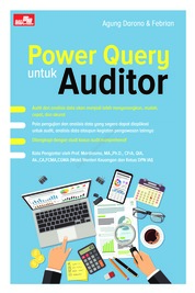 Cover Power Query untuk Auditor oleh Agung Darono & Febrian