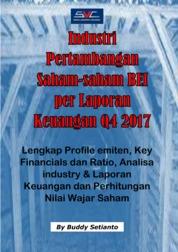 Saham-Saham Mining industry per Laporan Keuangan Q4 2017 by Buddy Setianto Cover