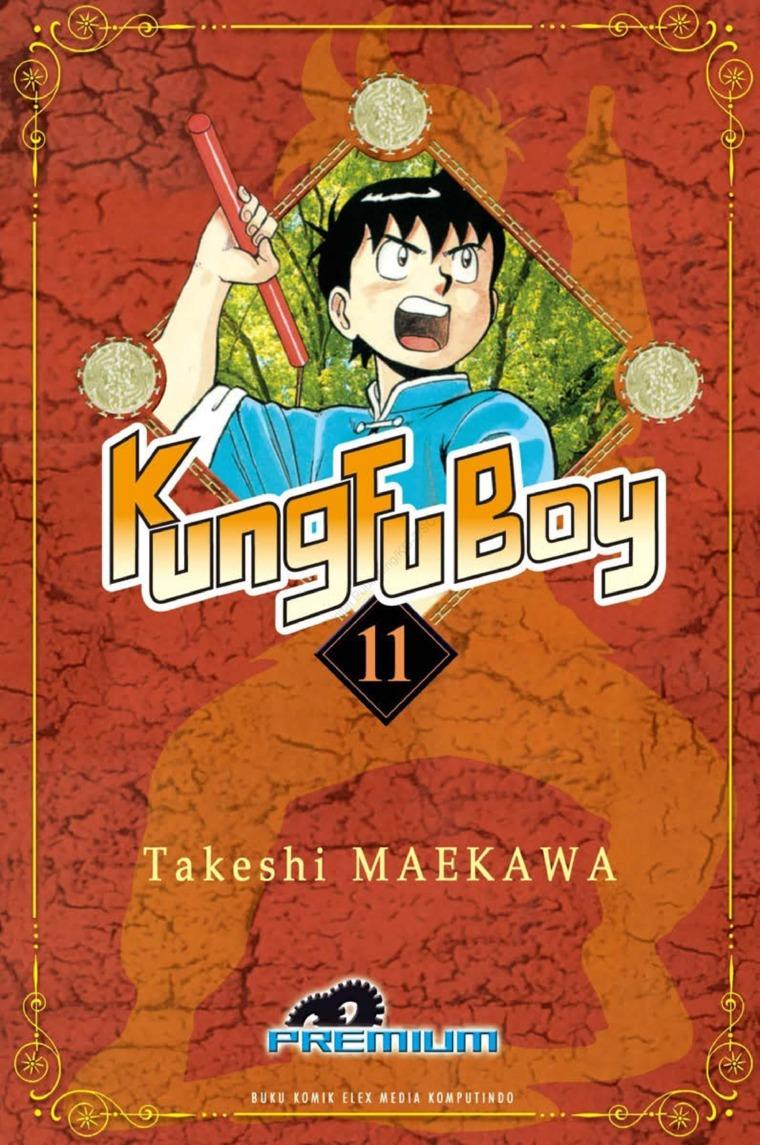 Buku Digital Kungfu Boy (Premium) Vol. 11 oleh Takeshi Maekawa