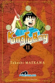 Cover Kungfu Boy (Premium) Vol. 11 oleh Takeshi Maekawa