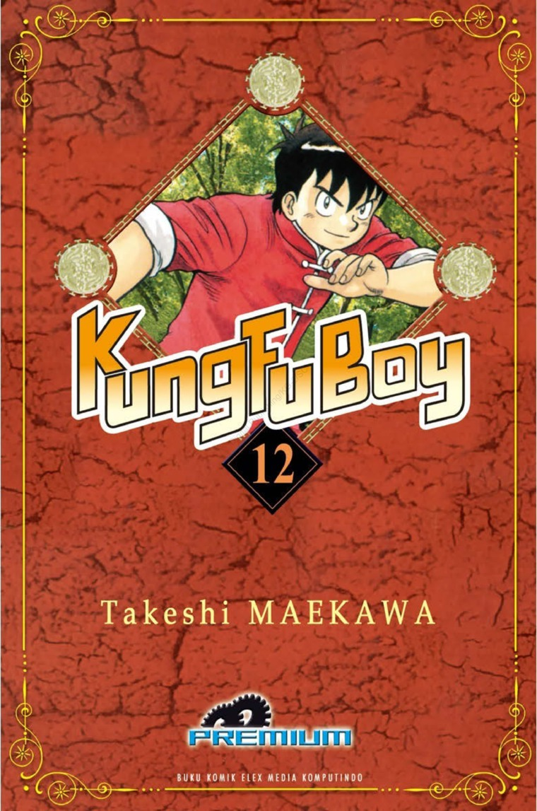 Buku Digital Kungfu Boy (Premium) Vol. 12 oleh Takeshi Maekawa