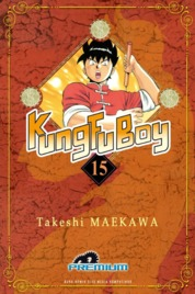 Cover Kungfu Boy (Premium) Vol. 15 oleh Takeshi Maekawa