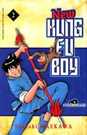 Cover New Kungfu Boy Vol. 02 oleh Takeshi Maekawa