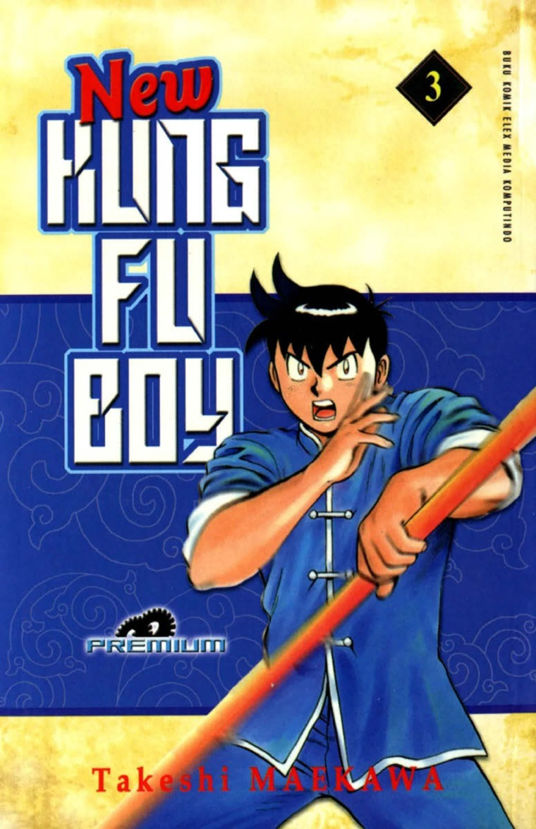 New Kungfu Boy Vol. 03 by Takeshi Maekawa Digital Book