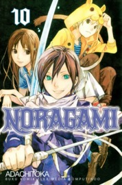 Cover Noragami 10 oleh Adachitoka