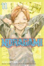 Cover Noragami 11 oleh Adachitoka
