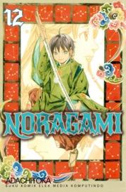 Cover Noragami 12 oleh Adachitoka