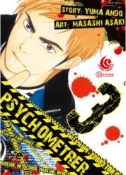 Cover LC: Psychometrer 03 oleh Yuma Ando / Masashi Asaki