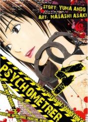 Cover LC: Psychometrer 04 oleh Yuma Ando / Masashi Asaki
