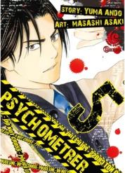 Cover LC: Psychometrer 05 oleh Yuma Ando / Masashi Asaki