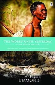 The World Until Yesterday by Jared Diamond Cover