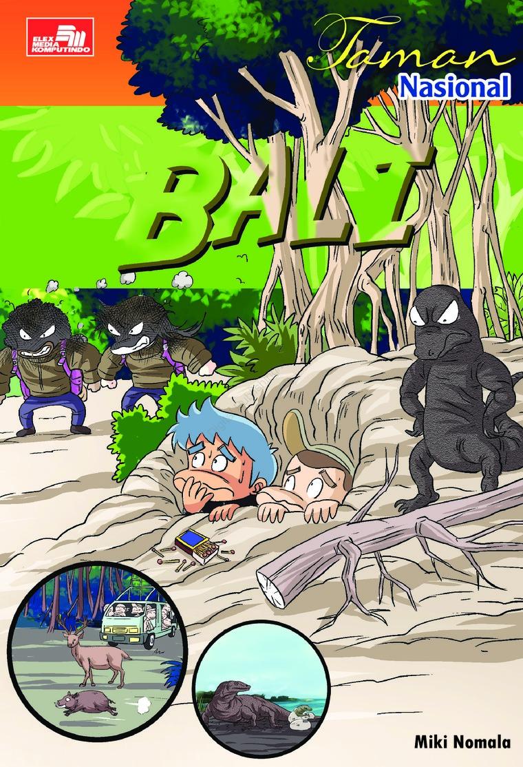 Buku Digital Taman Nasional Bali oleh Miki Nomala