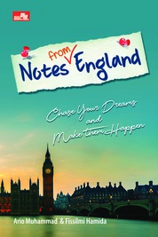Cover Notes from England oleh Ario Muhammad, Fissilmi Hamida