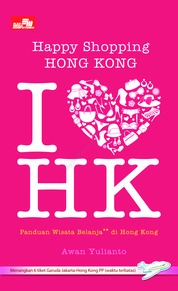 Cover Happy Shopping Hong Kong oleh Awan Yulianto