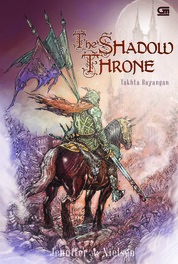 Takhta Bayangan (The Shadow Throne) by Jennifer A. Nielsen Cover