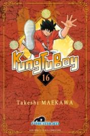 Cover Kungfu Boy (Premium) Vol. 16 oleh Takeshi Maekawa