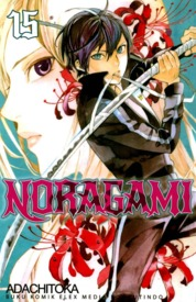 Cover Noragami 15 oleh Adachitoka