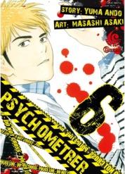 Cover LC: Psychometrer 06 oleh Yuma Ando / Masashi Asaki