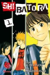 Cover LC: Shibatora 01 oleh Yuma Ando / Masashi Asaki