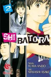 Cover LC: Shibatora 02 oleh Yuma Ando / Masashi Asaki