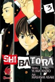 Cover LC: Shibatora 03 oleh Yuma Ando / Masashi Asaki