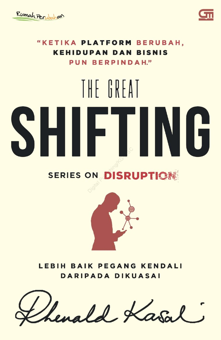 Buku Digital The Great Shifting oleh Rhenald Kasali