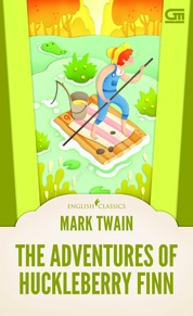 English Classics: The Adventure of Huckleberry Finn by Mark Twain Cover