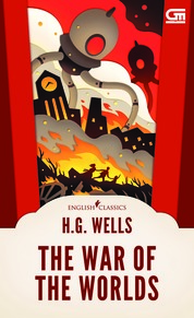 English Classics: The War of The Worlds by H.G. Wells Cover