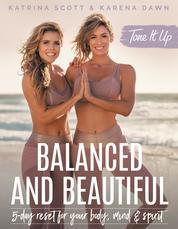 Tone It Up: Balanced and Beautiful by Katrina Scott Cover