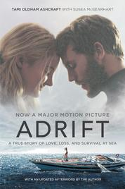 Adrift [Movie tie-in] by Tami Oldham Ashcraft Cover