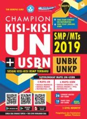 Cover Champion Kisi-Kisi UN + USBN SMP/MTs 2019 oleh Tim Kompas Ilmu