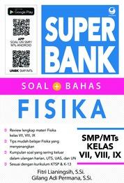 Cover Super Bank Soal Bahas Fisika SMP/MTs VII, VIII, IX oleh Fitri Lianingsih & Gilang Adi Permana