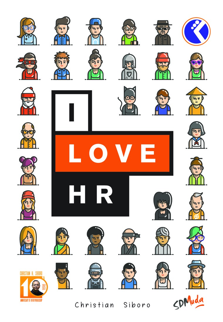 Buku Digital I LOVE HR oleh Christian Suboro