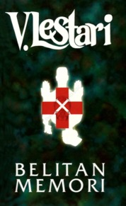 Cover Belitan Memori oleh V Lestari