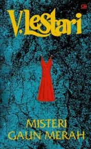 Cover Misteri Gaun Merah oleh V Lestari