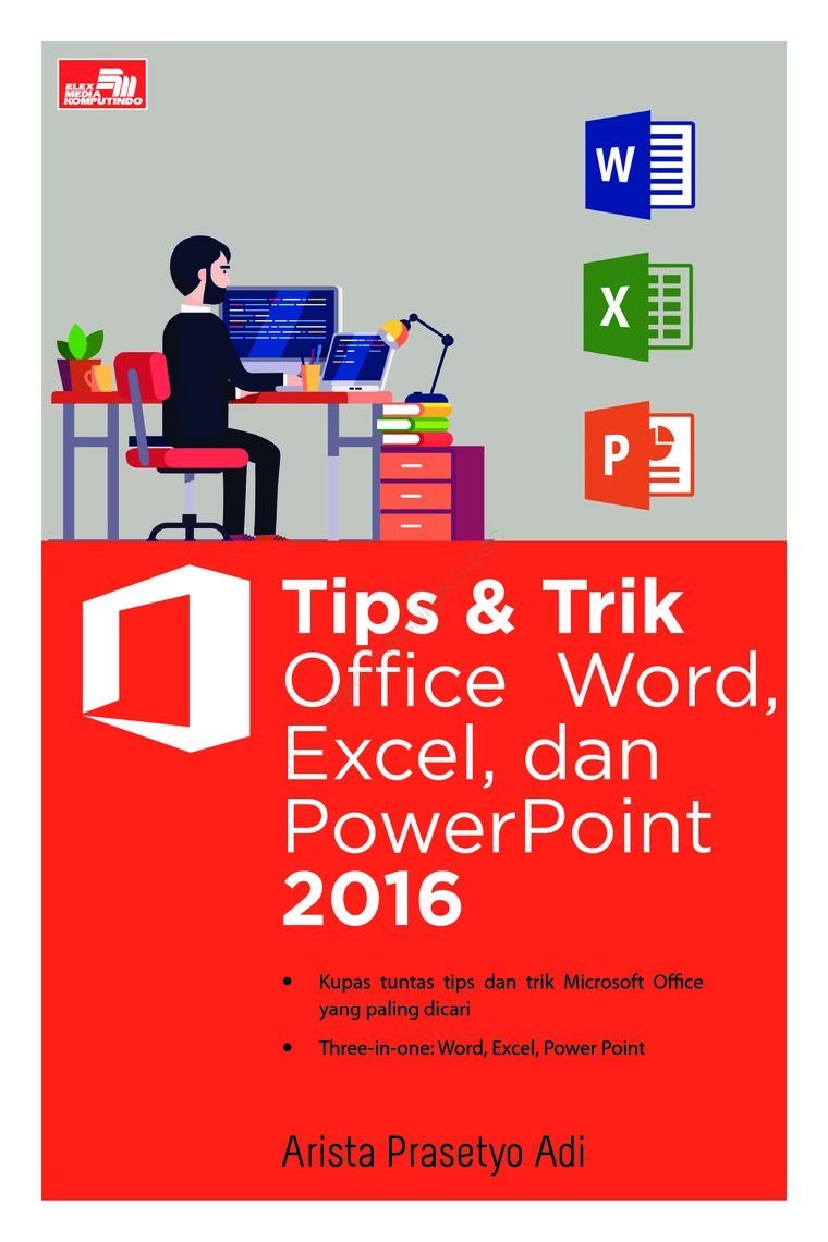 tips trik office word excel dan powerpoint 2016 book by arista