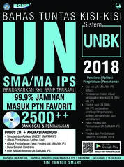Cover Bahas Tuntas Kisi-Kisi UN SMA IPS 2018 oleh Tim Tentor Smart