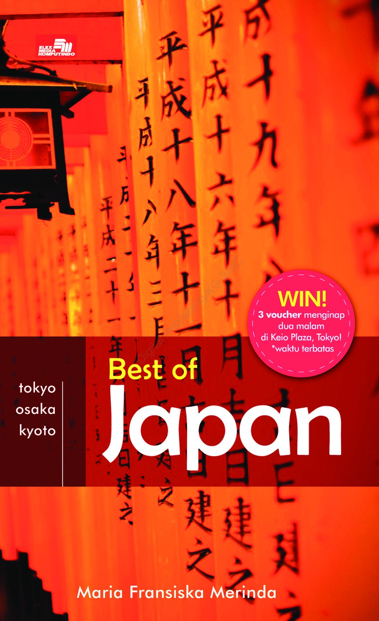 Buku Digital Best Of Japan oleh Maria Fransiska Merinda