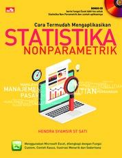 Cover Cara Termudah Mengaplikasikan Statistika oleh Hendra Syamsir