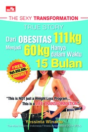 Cover The Sexy Transformation oleh Yessinta Winarto