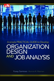 Cover Organization Design & Job Analysis Edisi Revisi oleh Yussy Santoso