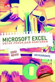 Microsoft Excel untuk Pekerjaan Kantoran Edisi Revisi by Adi Kusrianto Cover