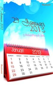 29 Januari 2013 (3 Bulan Penuh Arti) by Mujahadah Cover