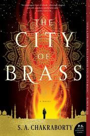 The City of Brass by S. A. Chakraborty Cover