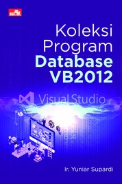Cover Koleksi Program Database VB2012 oleh Ir. Yuniar Supardi