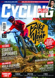 Cycling Plus Magazine Cover July-August 2018