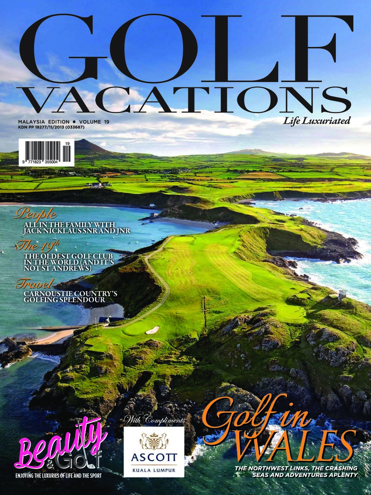 GOLF VACATIONS Digital Magazine ED 19 August 2018